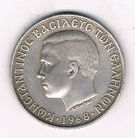 10 DRACHME 1968  GRIEKENLAND /4349// - Grèce