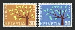 Suisse 1962 Yvert 698/699 ** Europa 1962 - Europa-CEPT