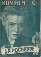 MON FILM N° 367 - LA POCHARDE -Pierre BRASSEUR / Pauline CARTON / GABRIELLO + Au Dos Errol FLYNN  - 1953 - Cinema