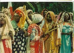 ILES COMORES Un Tonus Indigène Un Siècle Avec Livingstone Pub Biomarine, Envoie 1957, Avec Timbres - Comoros