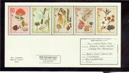 VV12 - Bloc Feuillet BF 268** MNH De 2012 - FLORE De NOUVELLE-ZELANDE - - Unused Stamps