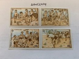 Cyprus Europa 1989 Mnh  #ab - Unused Stamps