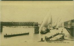 EGYPT - CAIRO - THE KASR-EL-NIL BRIDGE OPEN - EDIT L.C. -  1910s (BG3498) - Cairo