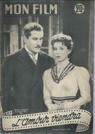 MON FILM N° 472 - L'AMOUR VIENDRA - Amadéo NAZZARI / Myriam BRU + VERA CRUZ - Gary COOPER / Burt LANCASTER - 1955 - Cinema