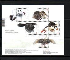 CANADA, 2016,BIRDS -I, M/S,  MNH**, - Birds