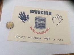 Buvard * «BRIOCHIN - SAVON MOU SPÉCIAL - Tend Les Mains Blanches» - Parfums & Beauté