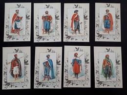Petites Cartes D'unifomes De Spahis & - Documents