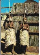 BASUTOLAND Enfants Parés Pour L'initiation Pub Biomarine, Envoie 1963, Avec Timbres - Lesotho