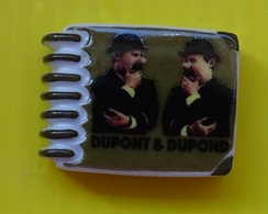 Fève - Livre à Spirales - Les Aventures De Tintin - Dupont &  Dupond - Sonstige