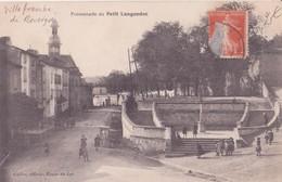 CPA - VILLEFRANCHE DE ROUERGUE - Promenade Du PETIT LANGUEDOC - Villefranche De Rouergue