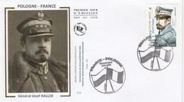 FDC 2019 - Pologne-France - Général Jozef Haller - 1er Jour Le 20.04.2019 à 75 Paris - FDC