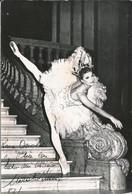 OPERA BALLET Argentinian Dancer Danseuse NORA BEATRIZ INSUA - Autograph Hand Signed Dedicacee - Photo 18x12 1960' - Fotos Dedicadas