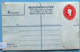 Fiji Q E II Registered Cover 8 C - Fiji (...-1970)