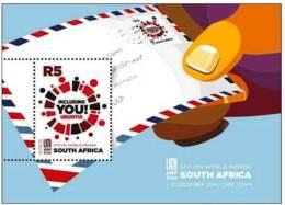 5.- SOUTH AFRICA 2014 MINIATURE SHEET. UNI WORLD CONGRESS - South Africa (1961-...)
