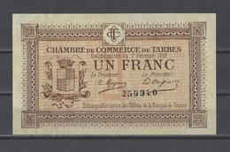 Chambre De Commerce De TARBES  Billet De 1.00F - Cámara De Comercio