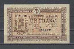 Chambre De Commerce De TARBES  Billet De 1.00F - Chamber Of Commerce