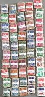 France - 5000 Timbres Petit Format (50 Bottes De 100) Pour étude Variétés Et Oblitérations - Stamps