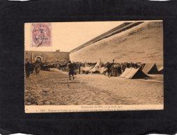 """86687 Marocco, Fez, Troupes Et Section De 65 Montagne Campees Dans La Place De Machina Pour La Defense De L""""Arsenal, VG - Fez"""