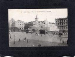86689    Algeria,  Alger,  Place  Du Gouvernement Et Le Palais Consulaire,  NV(scritta) - Algiers
