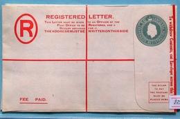 BarbadosQ E II Registered Cover 50 C - Barbados (...-1966)