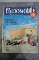 L'automobile Magazine N°171 Juillet 1960 - Ouvrons Le Dossier De L'essence - - Auto/Moto
