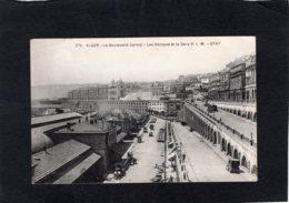 86692    Algeria,  Alger,  Le  Boulevard Carnot,  Les Rampes Et La Gare,    NV(scritta) - Algiers