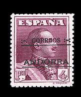 ** TIMBRES POSTE - ** - N°47 - Paire - CDF - 75c Bleu Foncé - TB - Spanish Andorra