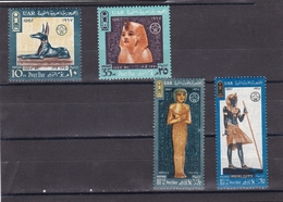 Egipto Nº 692 Al 695 - Usados