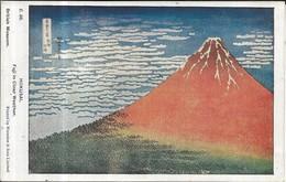 JAPAN Hokusai. Fuji In Clear Weather (Waterlow & Sons) Date Unknown Unused - Japan