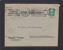 PERFIN/PERFORATION/FIRMENLOCHUNG AUS HAMBURG. - Lettres & Documents