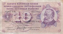 SCHWEIZERISCHE Nationalbank  1973 - Suiza