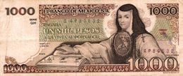 7268-2019    BILLET ETRANGER   MEXIQUE - Mexico