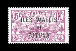 """* WALLIS ET FUTUNA - * - N°37a - Sans Surcharge """"3F"""" - Signé - TB - Wallis-Et-Futuna"""