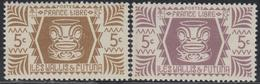 ** WALLIS ET FUTUNA - ** - N°133 - 5c Lilas Au Lieu De Bistre Brun - TB - Wallis-Et-Futuna