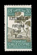 """* WALLIS ET FUTUNA - TIMBRES TAXE - * - N°31 - Surch. Incomplète """"FRA LIB"""" - B - Wallis-Et-Futuna"""