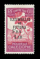 """* WALLIS ET FUTUNA - TIMBRES TAXE - * - N°33 - Surch. Incomplète """"FRA LIB"""" - B - Wallis-Et-Futuna"""