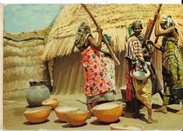 GHANA Femmes Pilant Le Manioc Pub Biomarine,  Avec Timbres - Ghana - Gold Coast