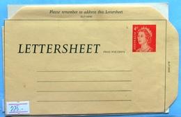 Australia Q E II Lettersheet 4 C - Postal Stationery