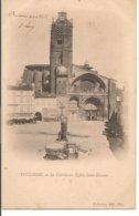 L120B_266 - Toulouse - 2 La Cathédrale - Eglise Sant-Etienne - Carte Précurseur - Toulouse