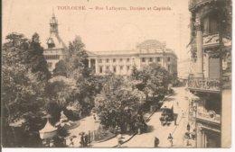 L120B_268 - Toulouse - Rue Lafayette. Donjon Et Capitole - Toulouse