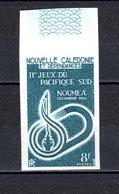 Nlle CALEDONIE N° 328    ESSAI DE COULEUR EN MARINE  NEUF SANS CHARNIERE  COTE ?  JEUX SPORTIFS - Non Dentelés, épreuves & Variétés