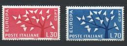 Italie 1962 Yvert 873/874 ** Europa 1962 - Europa-CEPT