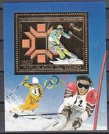 1983Chad975/B161gold1984 Olympiad Sarajevo12,00 € - Winter 1984: Sarajevo