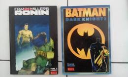 Lot 2 Bd FRANK MILLER Batman Dark Knight 2 + Ronin 6 (Assaut) - Batman
