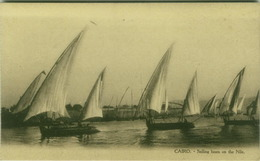 EGYPT - CAIRO - SAILING BOATS ON THE NILE - EDIT L.C. -  1910s (BG3503) - Cairo
