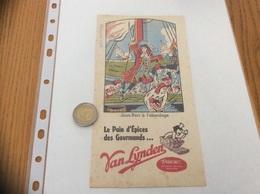 Buvard «Pain D'épices Van Lynden - Jean-Bart à L'abordage» - Gingerbread