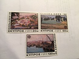 Cyprus Europa 1977  Mnh #ab - Unused Stamps
