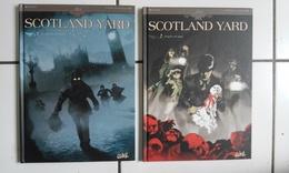 Lot 2 Bd SCOTLAND YARD (Dobbs Perger) 1 Et 2 Au Coeur Des Ténèbres / Poupées De Sang ( Soleil) - Books, Magazines, Comics