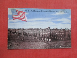 U.S.A. Boys On Parade Minute Men Of To-day > Ref 3378 - Militaria