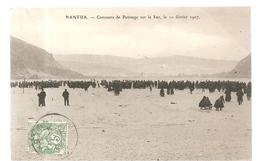 CPA Nantua (01) Concours De Patinnage Sur Le Lac Le 10 Février 1907 - Nantua